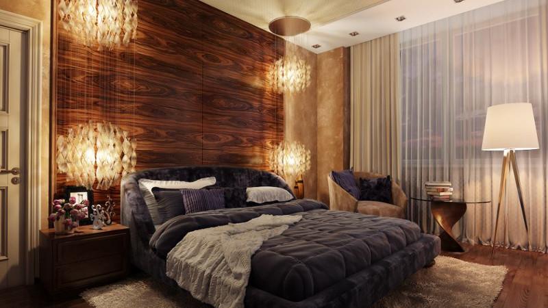 Дизайн отделка спальни